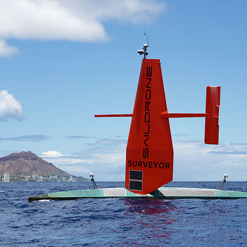 Saildrone Surveyor Completes Its First Ocean Crossing from San Francisco to Hawaii