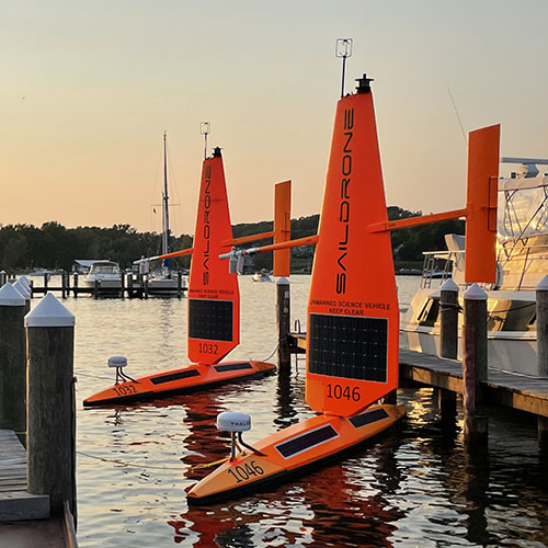 Saildrone Launches First Freshwater Mission in the Great Lakes