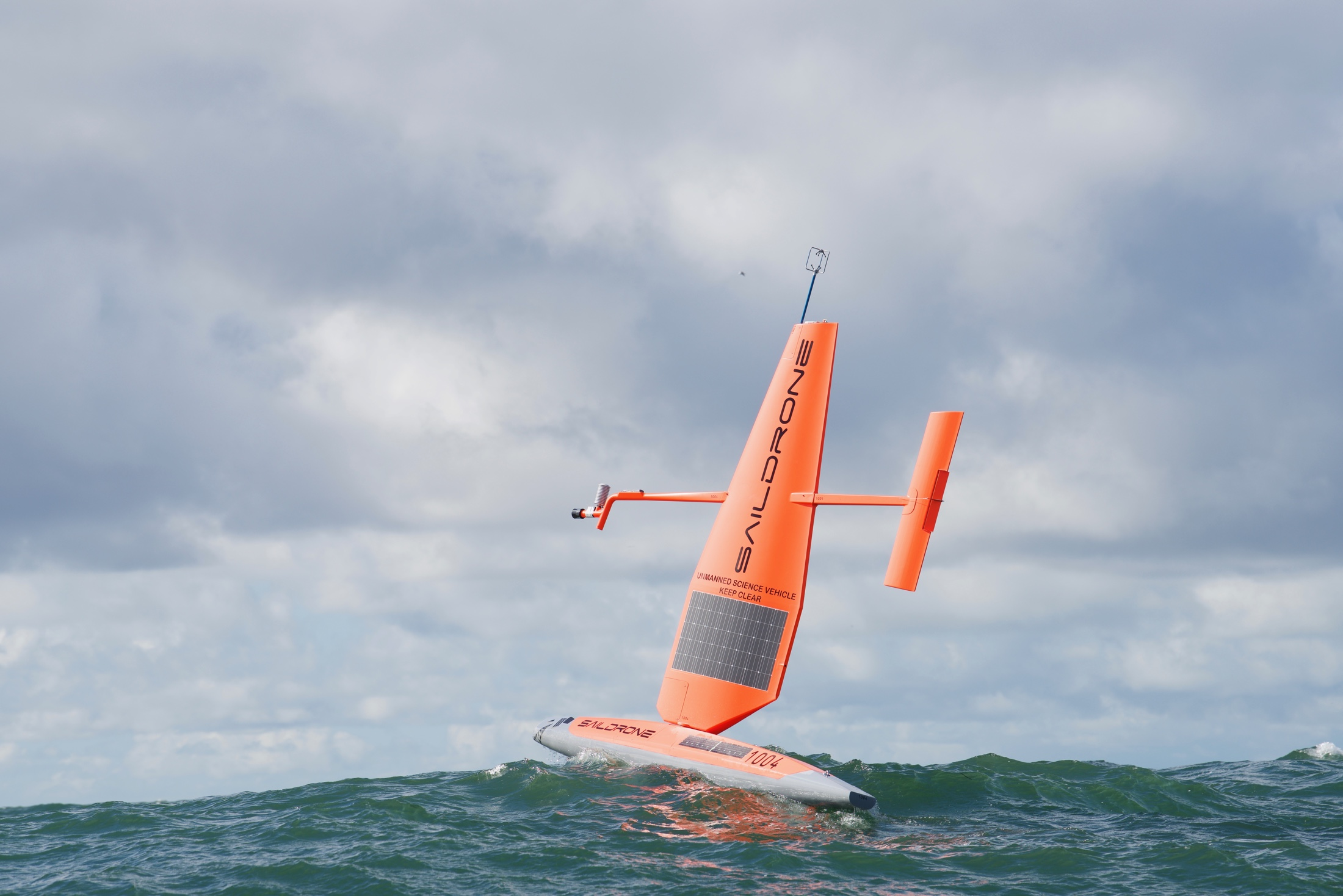 Saildrone: Press