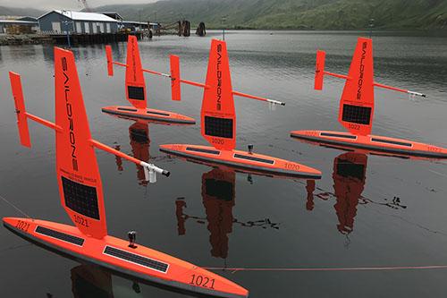 Arctic saildrone fleet