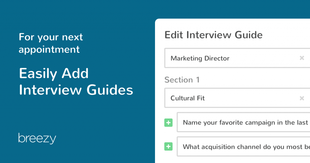 breezy interview guides