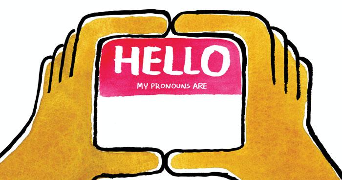 gender pronouns at work