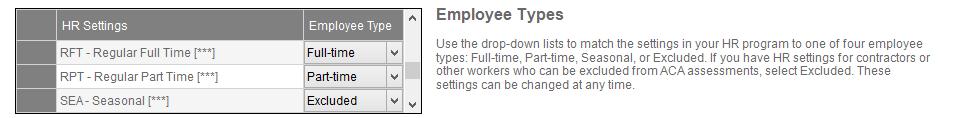 Employees/Service Hours window