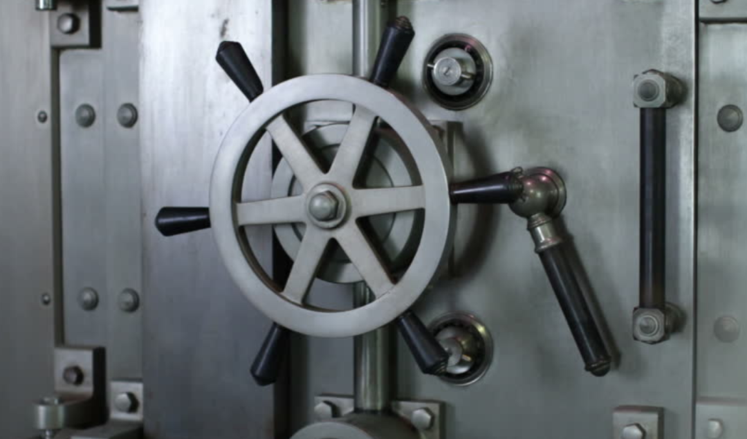 bank vault door handle