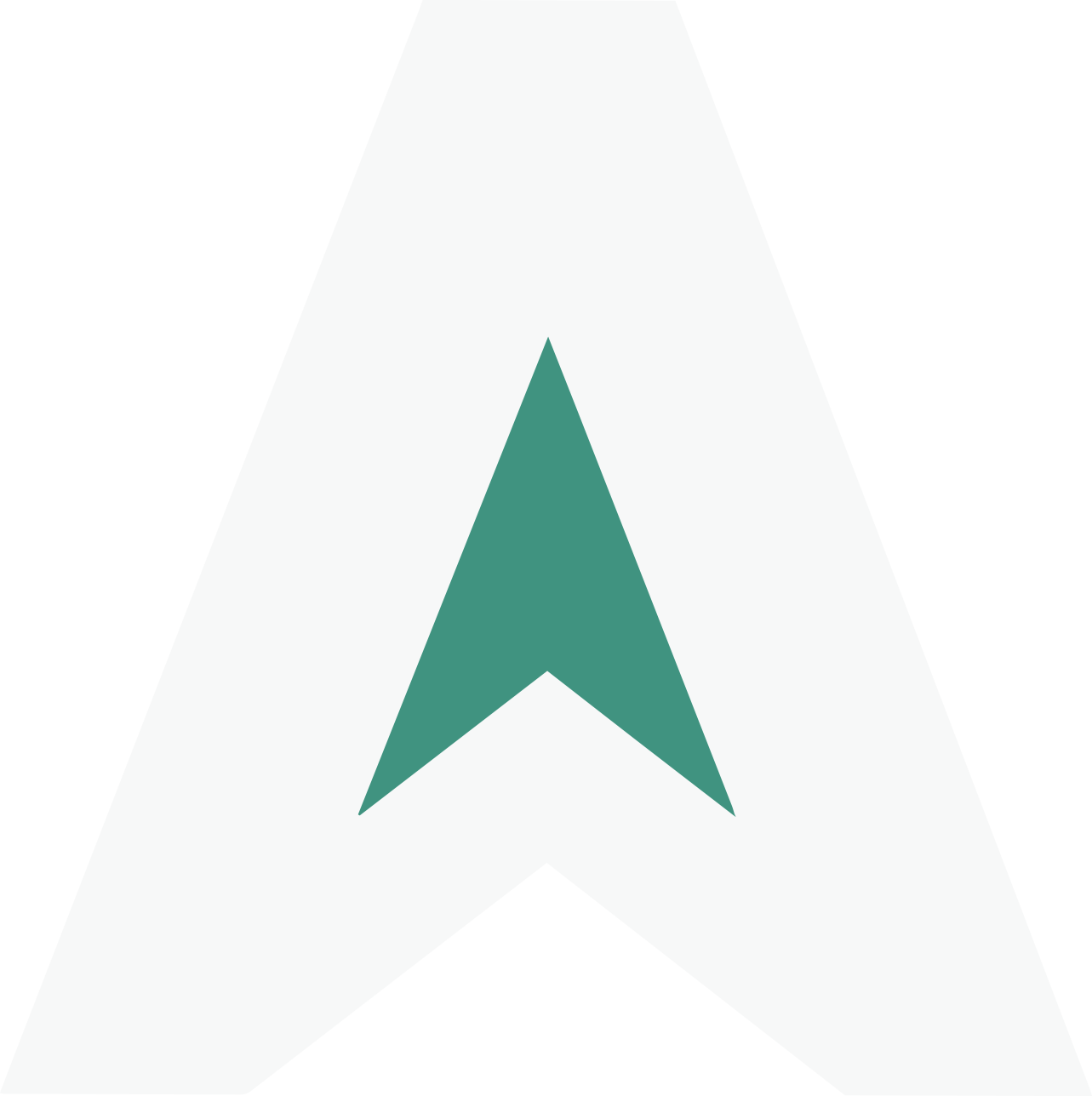 "AdRizer logo pointer ""A"""