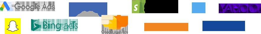 Integrations logos