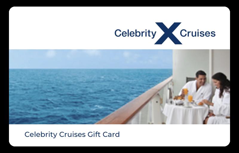 Celebrity Cruises gift card