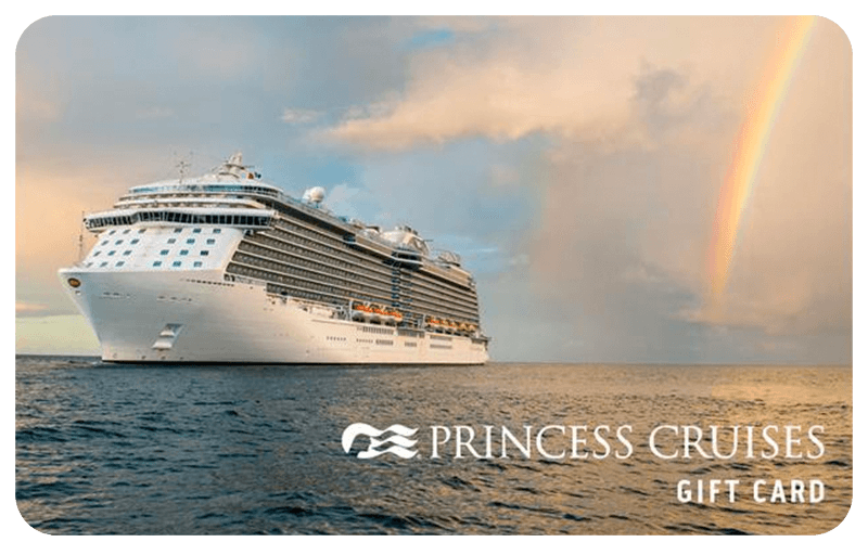 Princess Cruises gift card