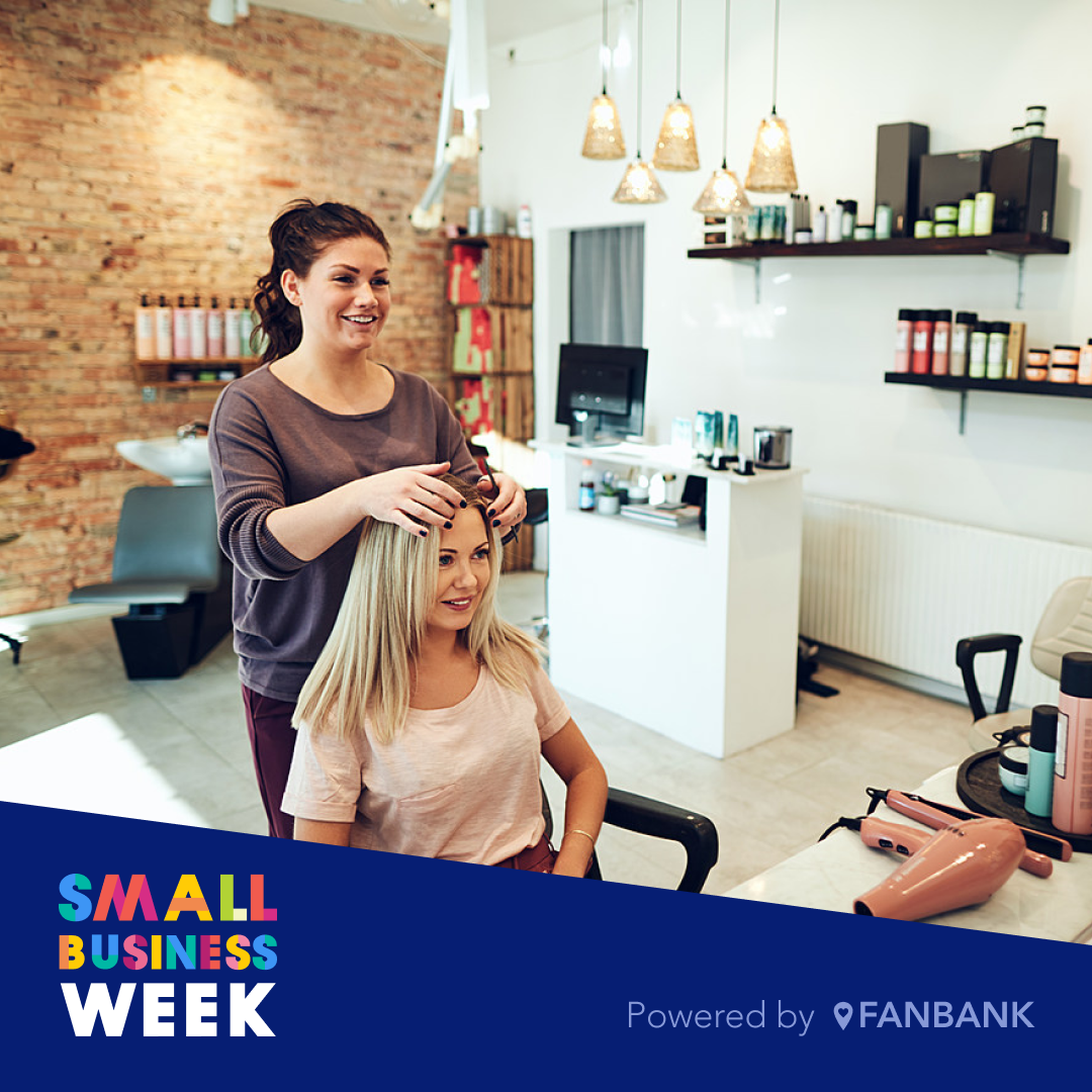 Fanbank small business owner beauty