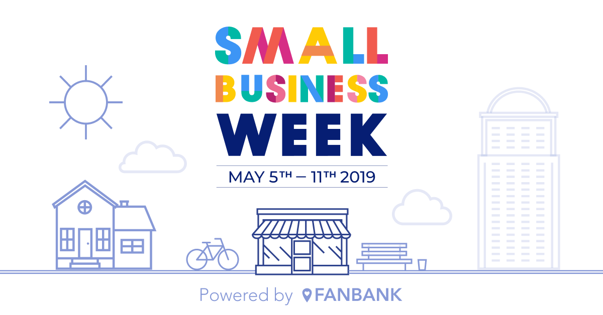 Fanbank small business week - light - social graphic