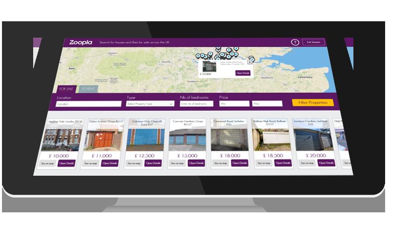 real estate property listing software