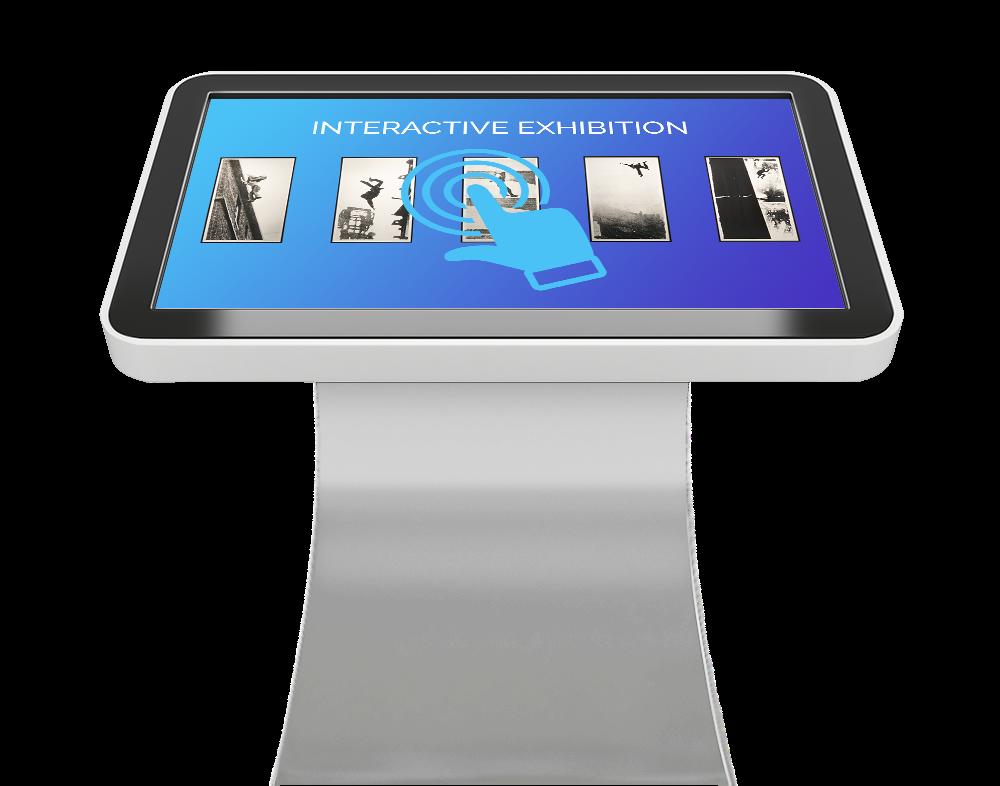 Touchscreen Kiosk for Museum