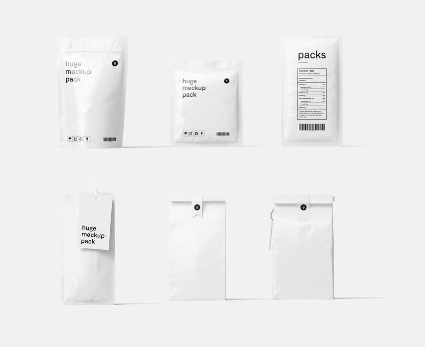 120 packages mockups