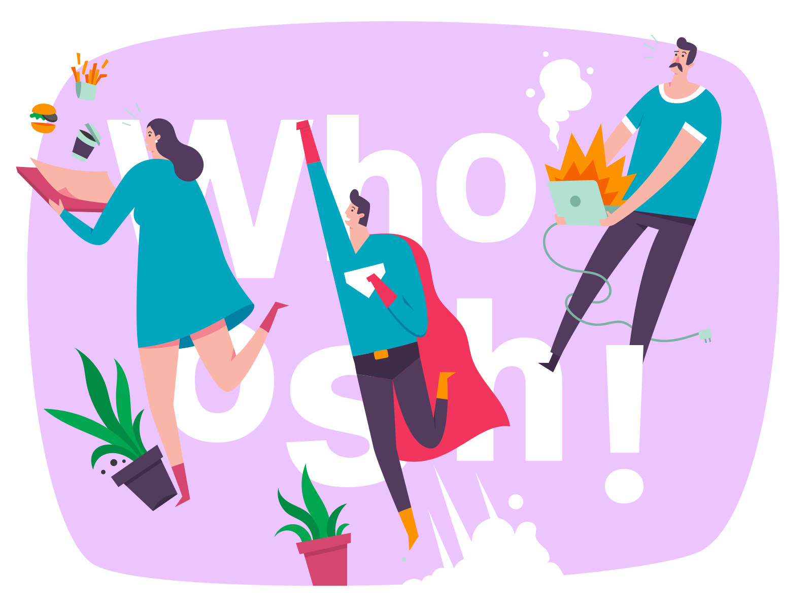 Whoosh! Illustration Kit