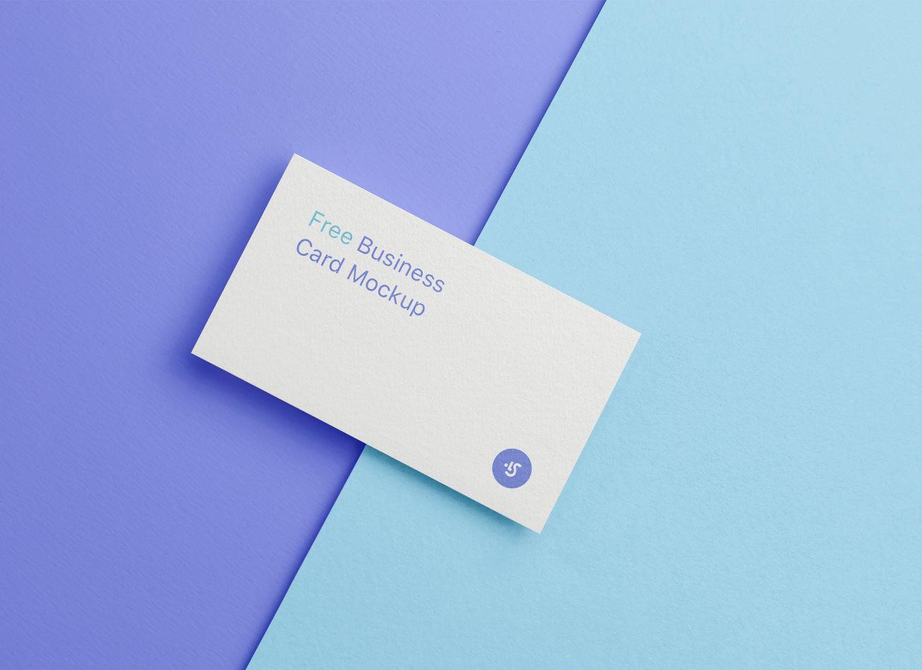 Business Card Mockup Download