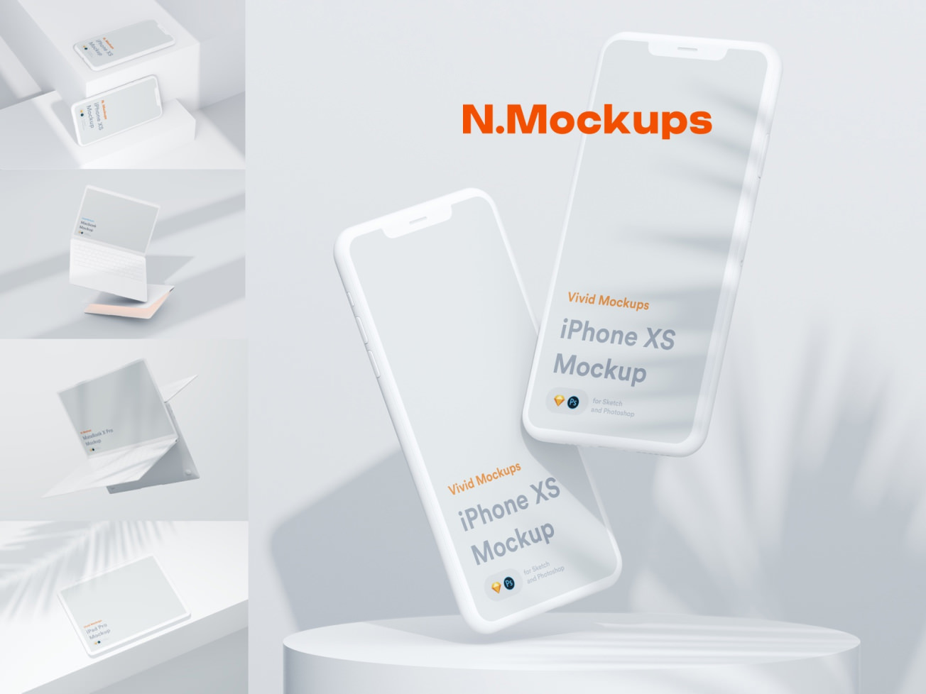Simple Devices Mockups