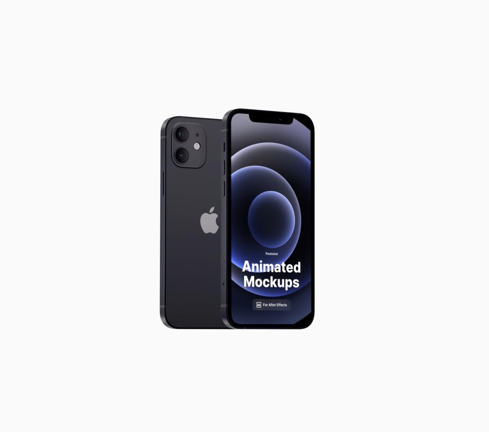 iPhone 12 Pro Animated Mockup