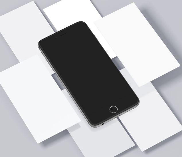 iPhone & Mobile Screens Mockups