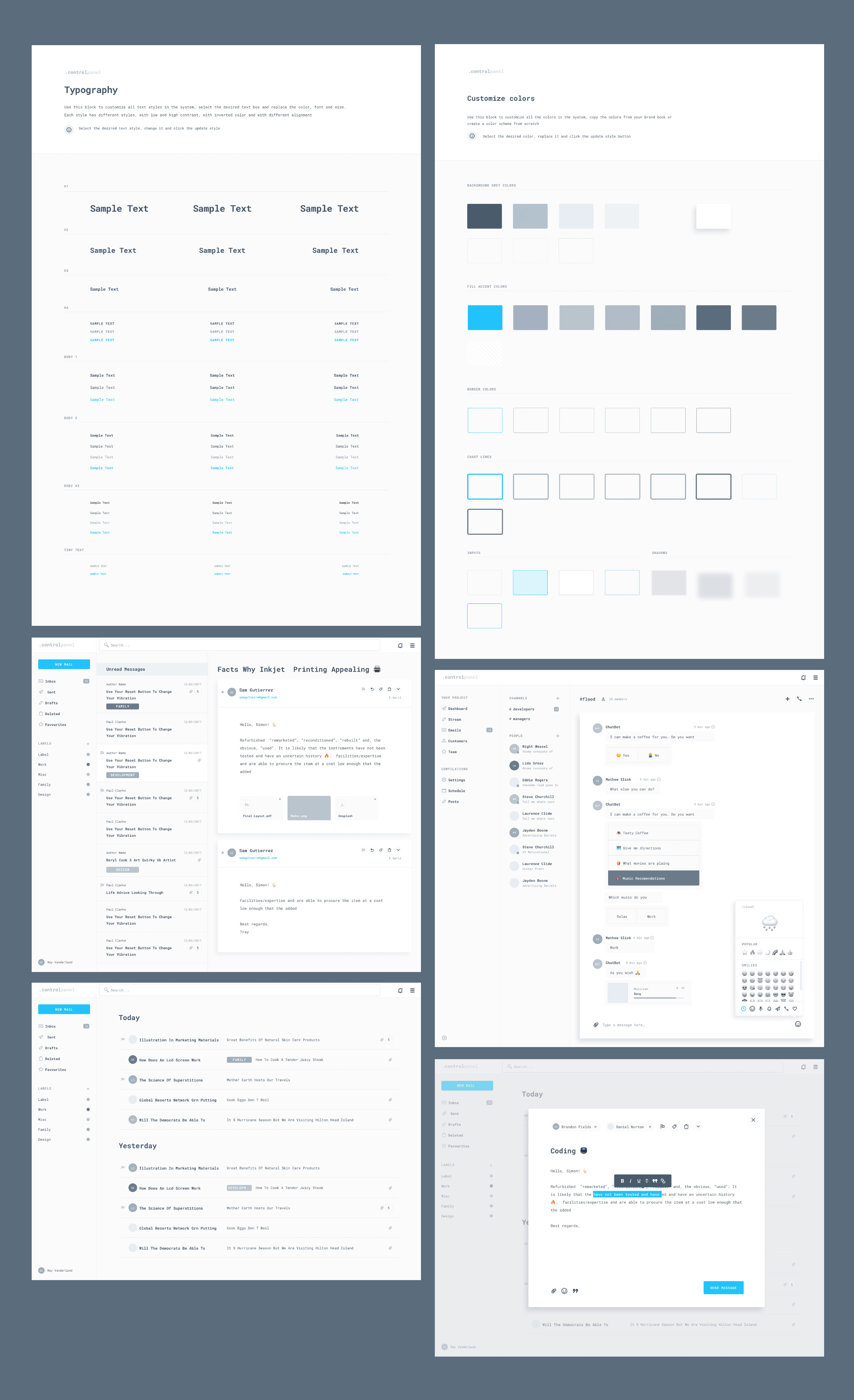.controlpanel – Design System