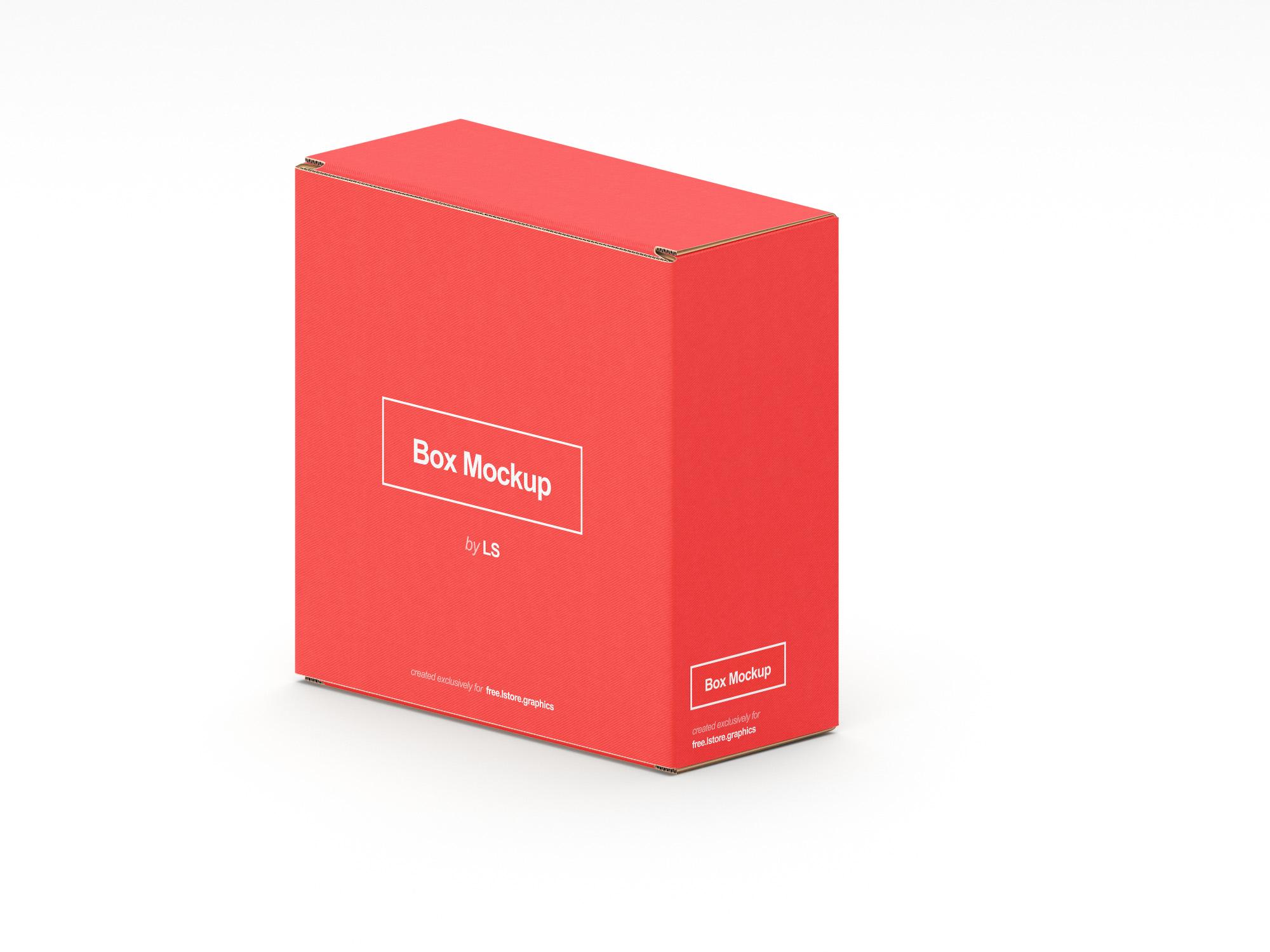 7 Free Boxes Mockups Ls Graphics