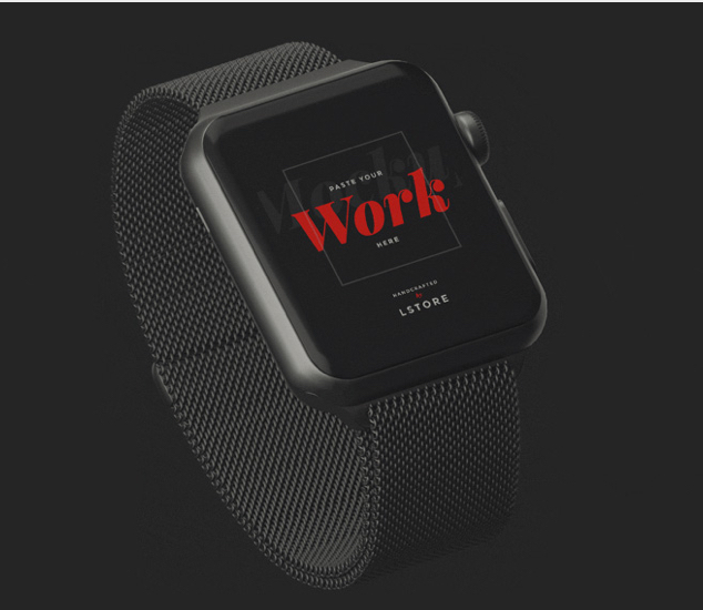 Animated Mockup Apple Watch