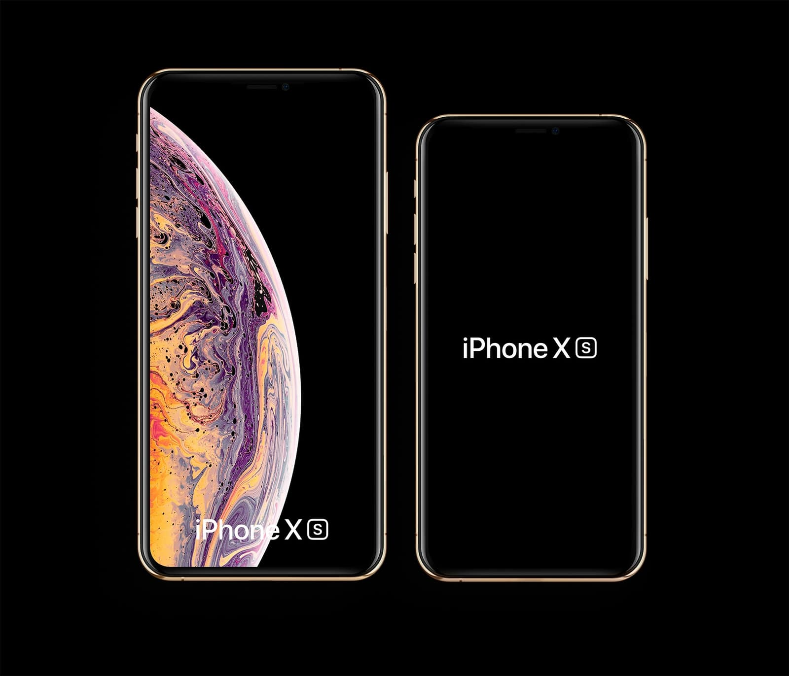 Free iPhone XS, iPhone XS Max Mockups | LS Graphics