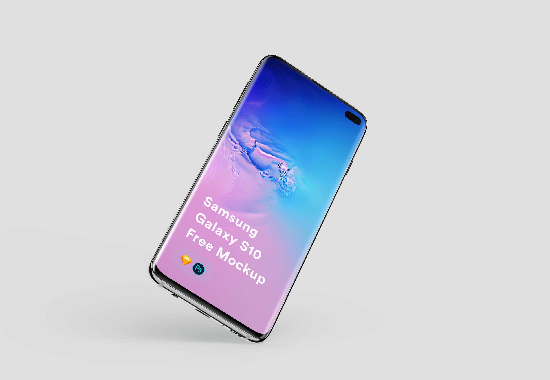 Free Samsung Galaxy S10 Mockup | LS Graphics
