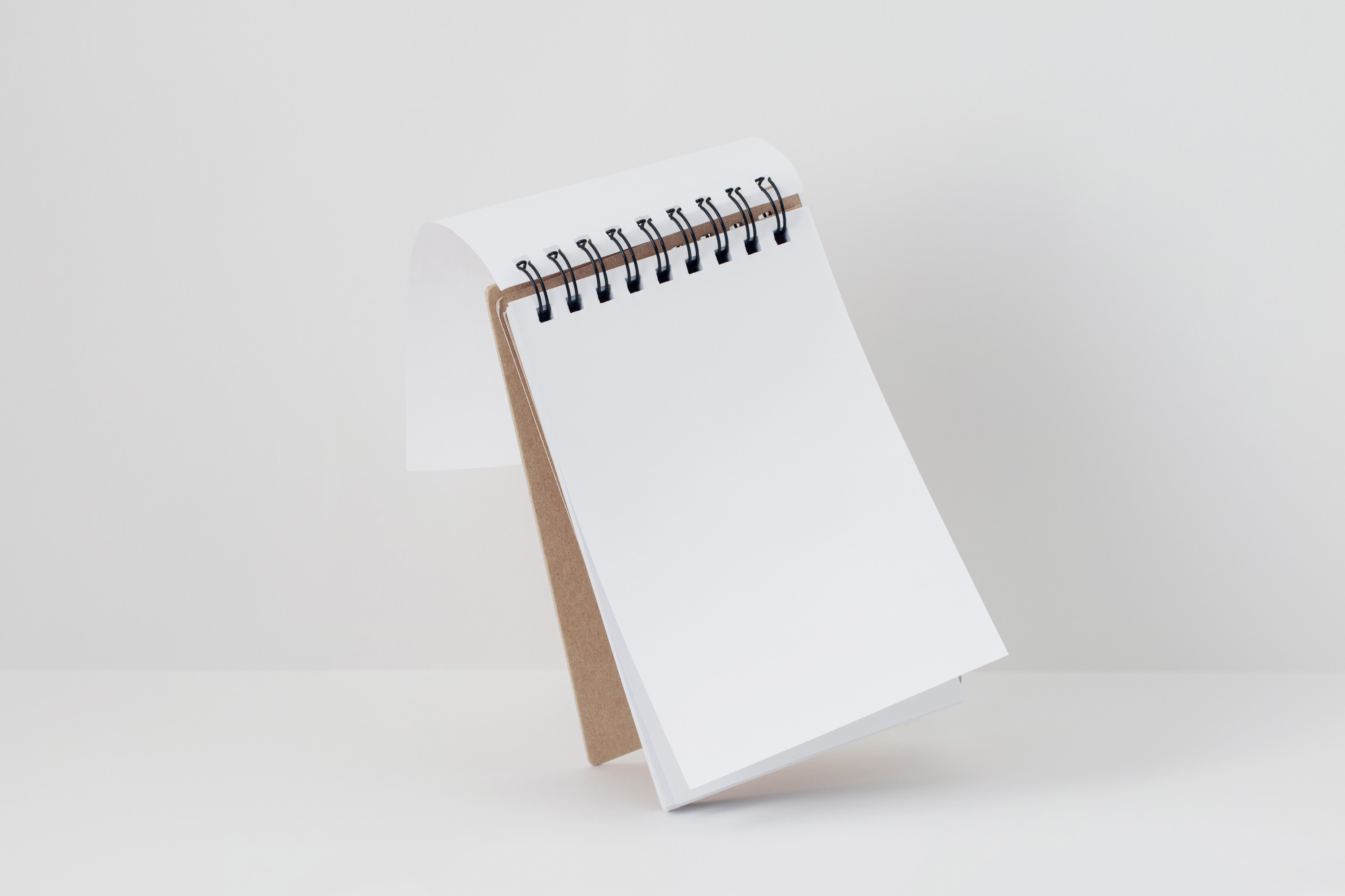 Free Notepad Mockup for Photoshop