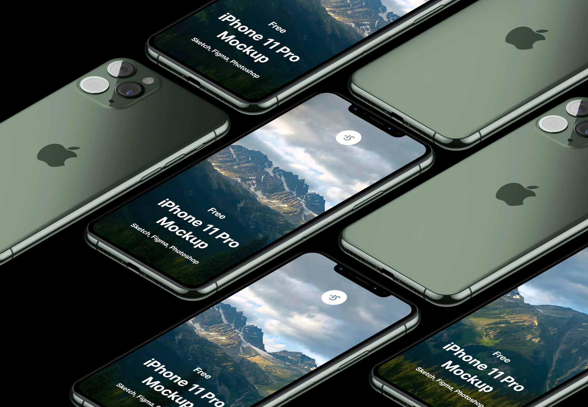 Free iPhone 11 Mockup