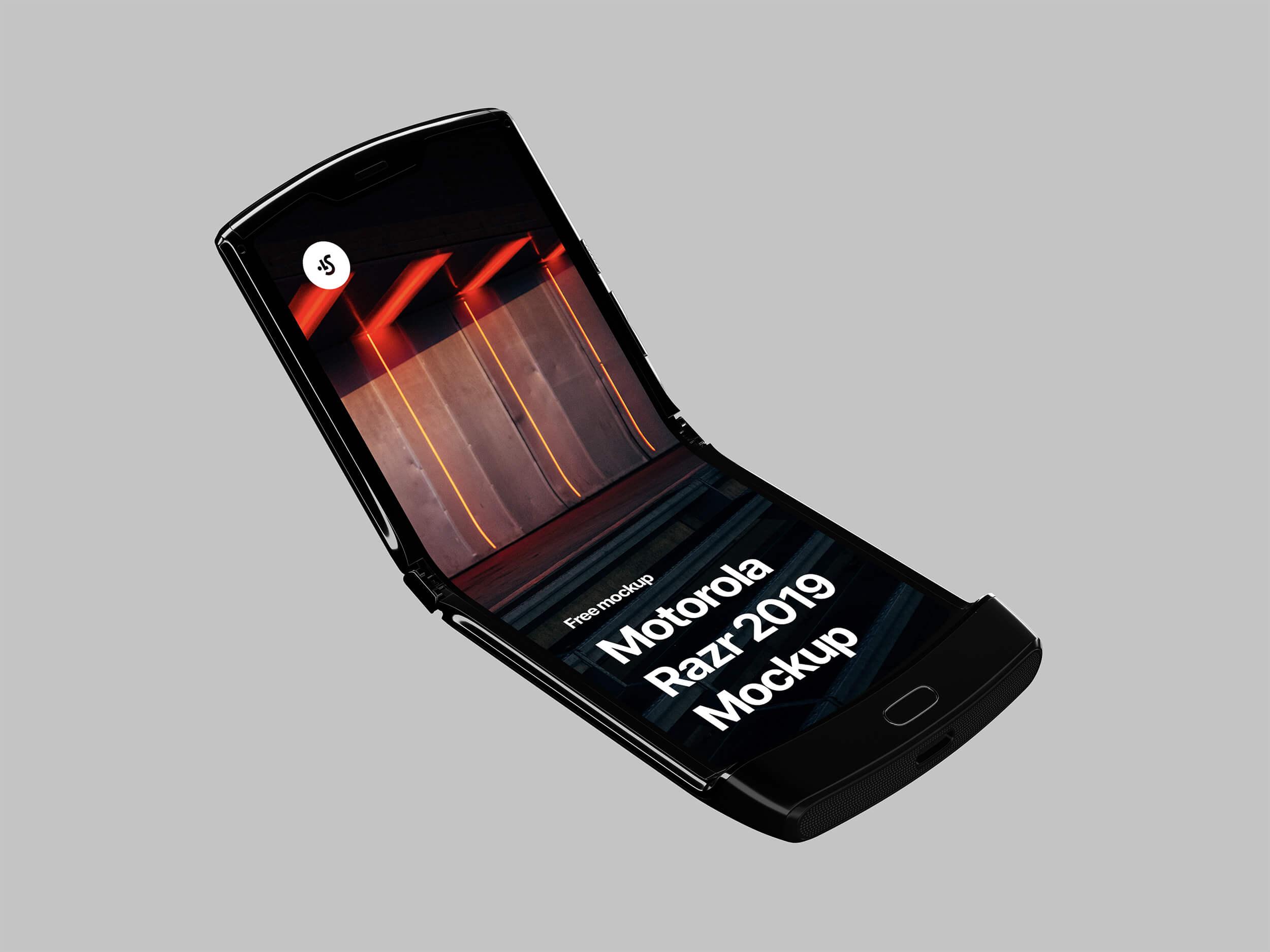 Motorola Razr 2019 Mockup