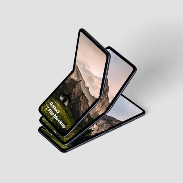 Galaxy Z Flip Mockups