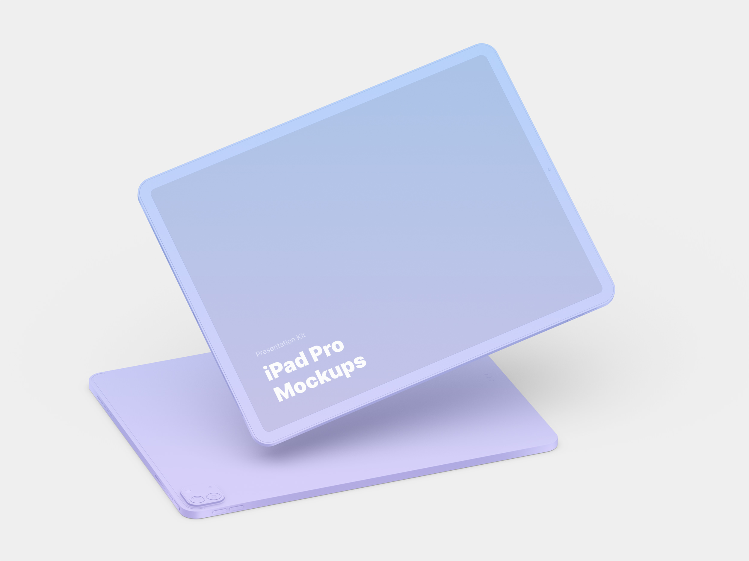 iPad Pro (2020) Mockups