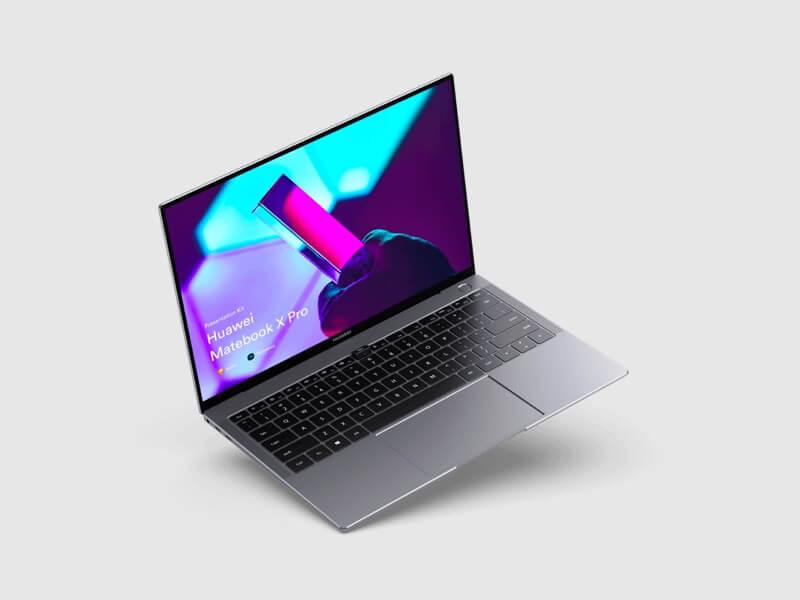 Huawei MateBook X Pro Mockups