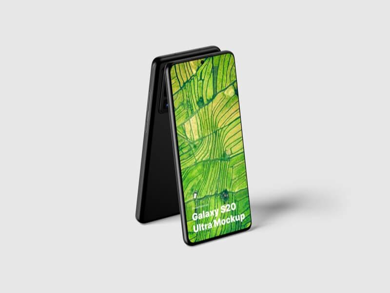 Samsung Galaxy S20 Ultra Mockups