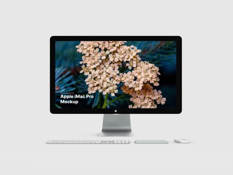 iMac, iMac Pro Mockups