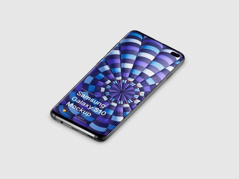 Samsung Galaxy S10 Mockups
