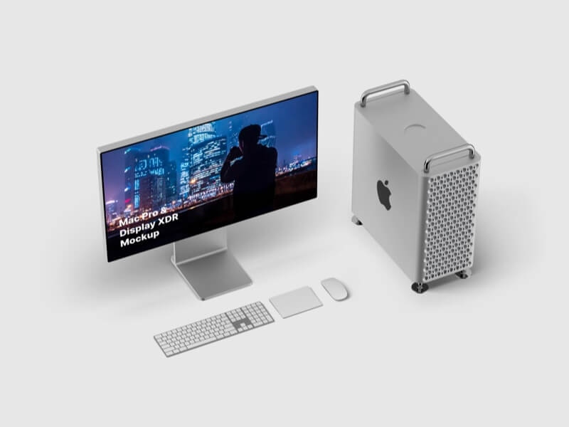 Mac Pro & Display XDR Mockups