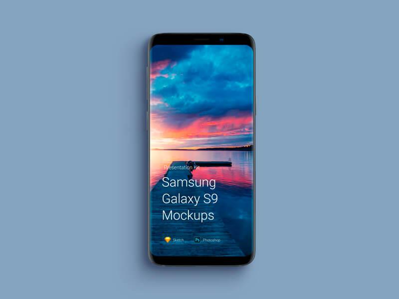 Free Samsung Galaxy S9 Mockups