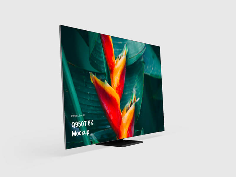 Free Samsung TV Mockups for Sketch, Photoshop, Figma