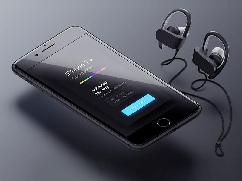Animated iPhone 7 Mockup