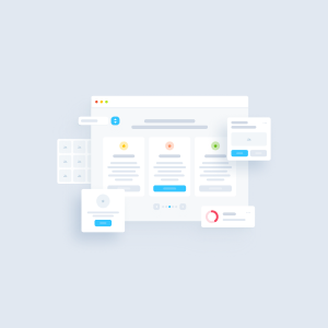 Beautiful and smart UX kit for fast prototyping