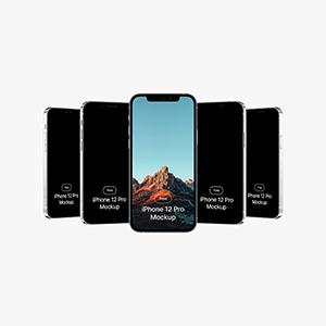 iPhone 12 Pro Mockups