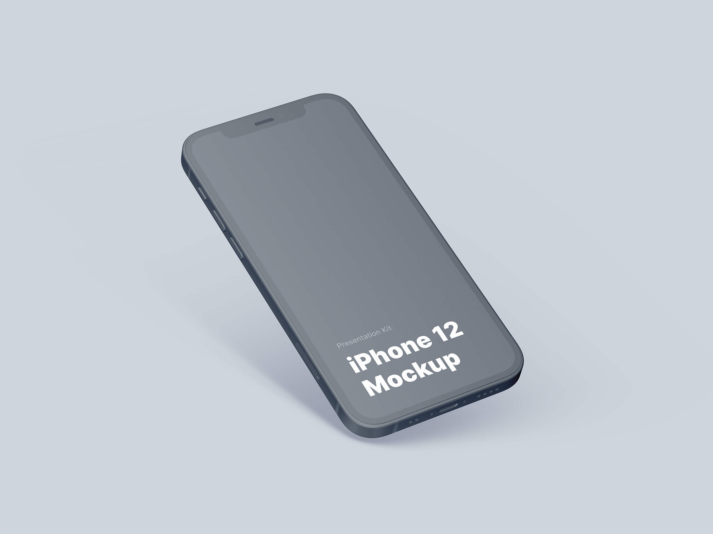 Clay iPhone 12 Mockup