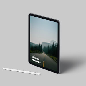New iPad Air Mockups