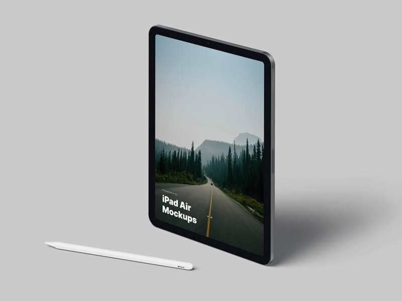 iPad Air (2020) Mockups