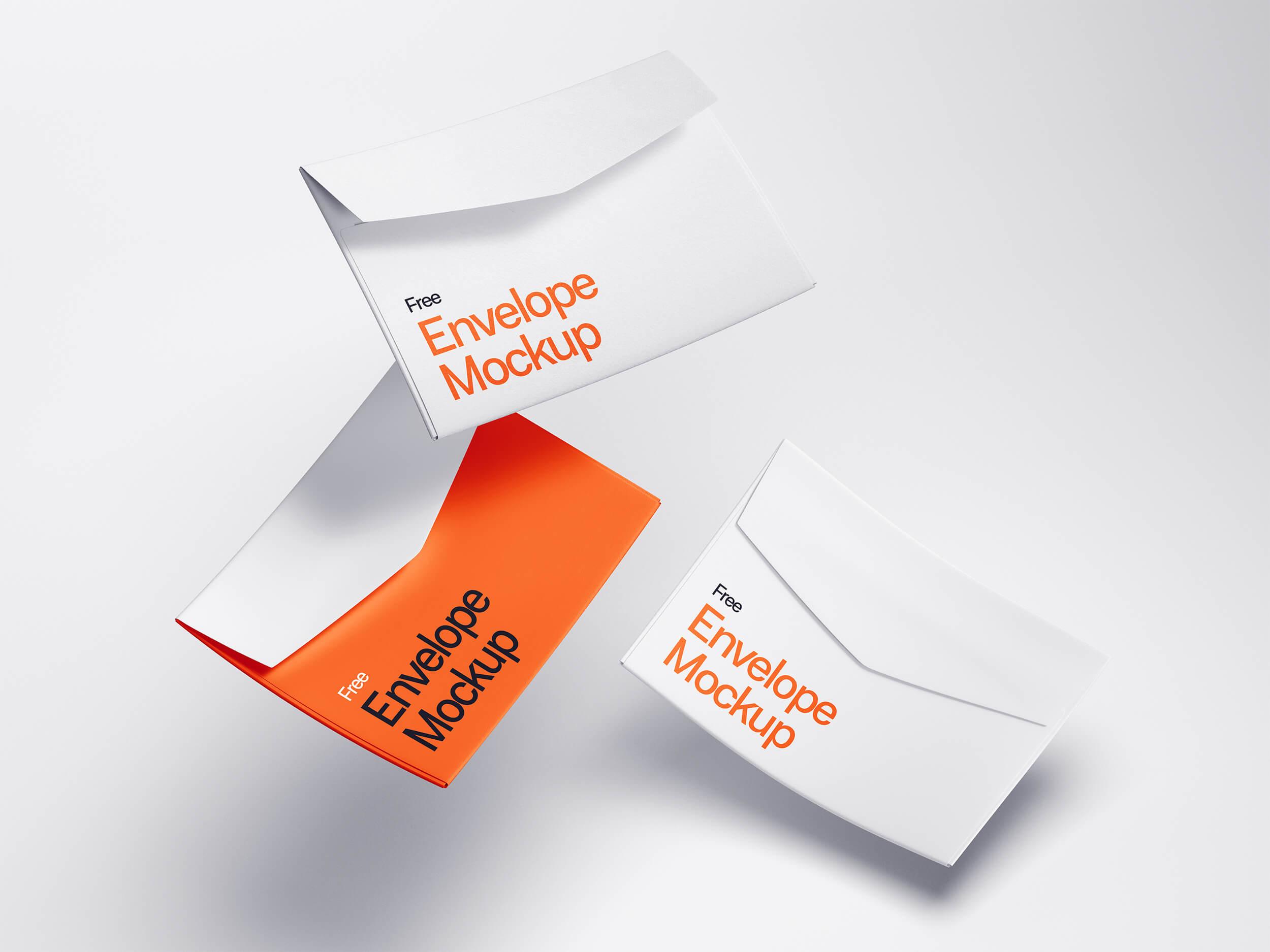 Free Envelope Mockups