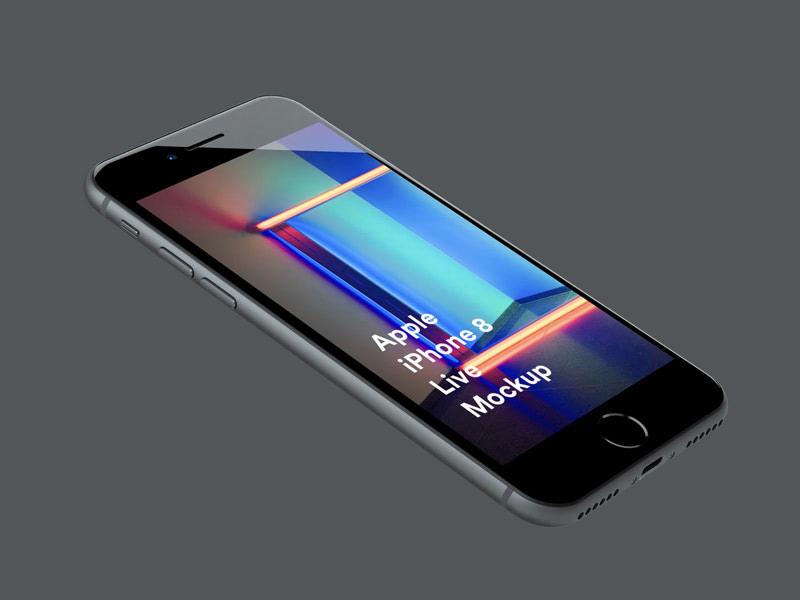 iPhone 8 Live Mockups
