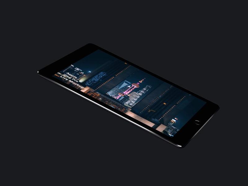 iPad Pro Live Mockups