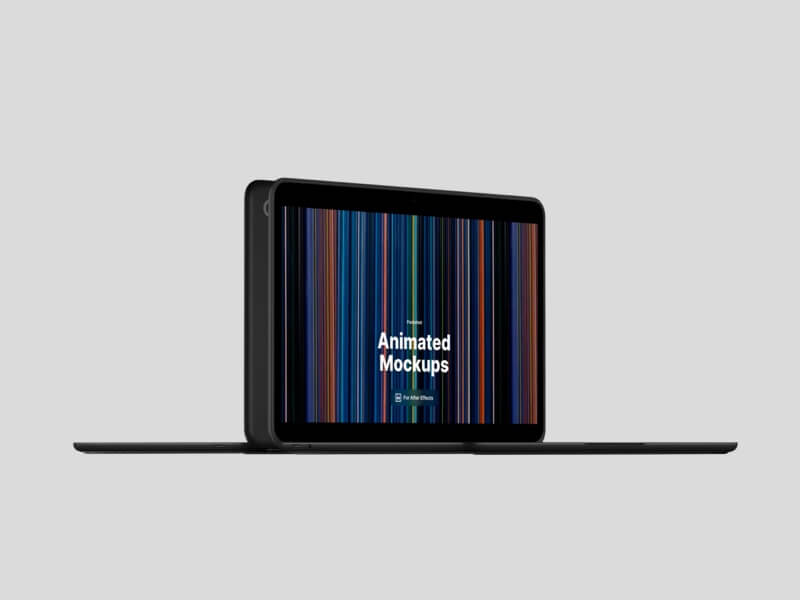 PixelBook Go Looped Animated Mockups