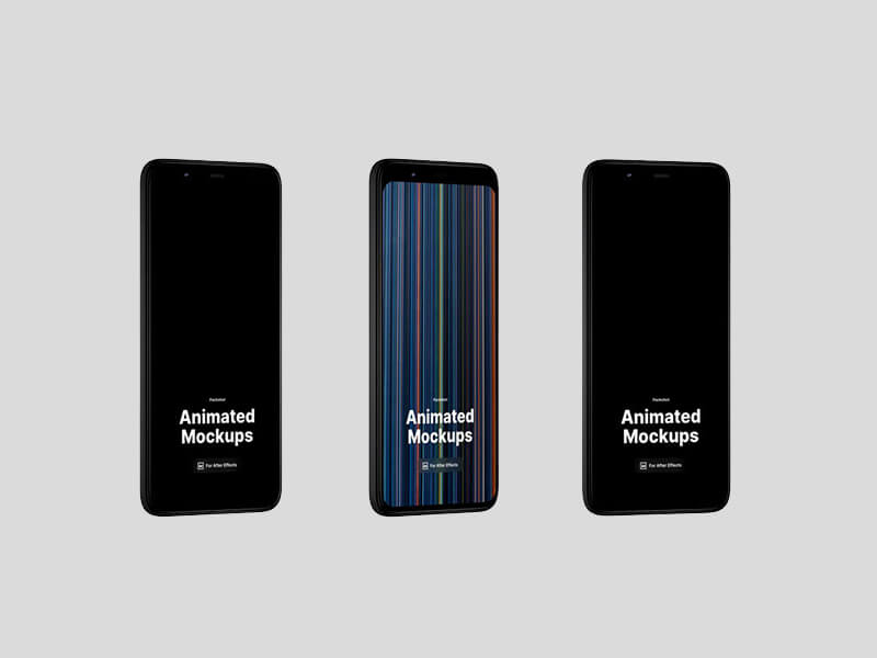 Pixel 4 XL Animated Mockups